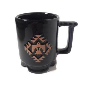 C1 Frankoma USA Pottery Aztec Thunderbird Mug